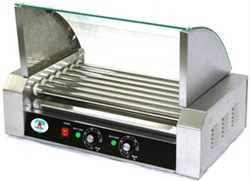 7 Roller Hot Dog Warming Machine