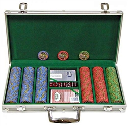 R300 Chip Nevada Jacks 10g Set with Aluminum Case