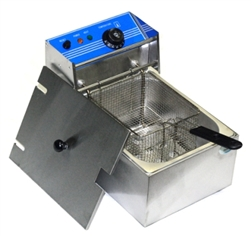 Single Electric Deep Fryer