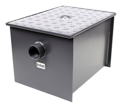 Commercial Grease Trap Interceptor 20 LB 10 GPM