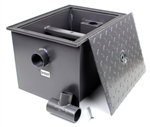 Commercial Grease Trap Interceptor 40 LB 20 GPM