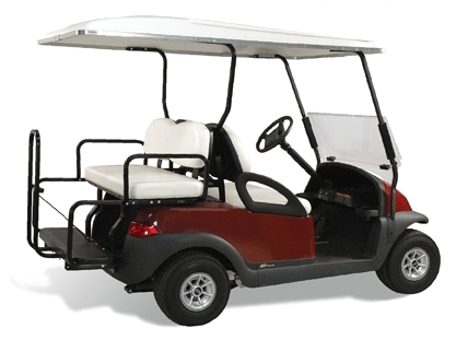 Club Car DS Elite Standard Fixed Bottom Rear Seat Kits - Factory Colors