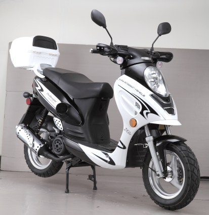 brand new 50cc challenger sport moped scooter. Black Bedroom Furniture Sets. Home Design Ideas