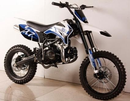 125cc super ravenger motocross dirt bike 4 speed manual clutch. Black Bedroom Furniture Sets. Home Design Ideas