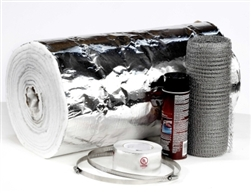 "1/4"" x 25' Chimney Liner Insulation Kit - Fits 7"" - 8"" Liners"