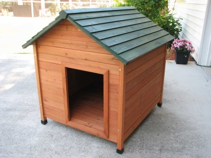 Extra Large Classic Cedar Dog House