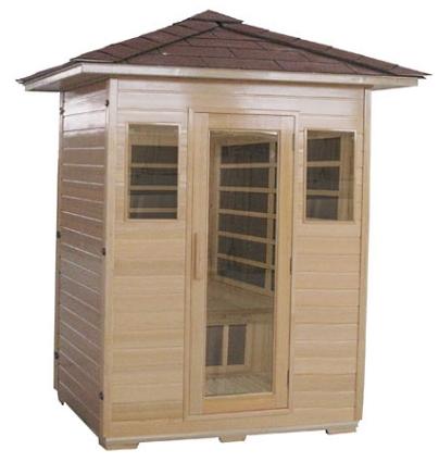 Outdoor Infrared Sauna 108