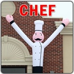 Chef Business Wacky Wind Blower