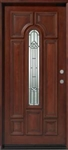 "Solid Wood Mahogany 36"" Pre-Hung Exterior Door"
