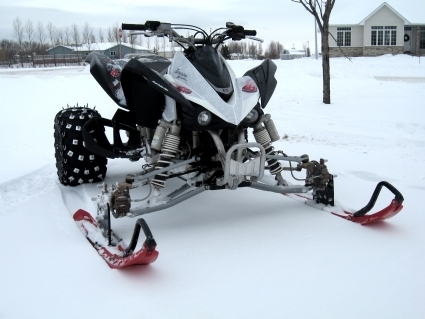 Atv Ski Snowmobile Conversion Kit Fits All Models