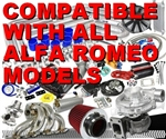 Awesome Complete Alfa Romeo High Performance Turbo / Charger Universal Kit (Gain 200+ H.P. - Complete Kit)