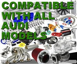 Brand New Complete Audi High Performance Turbo / Charger Universal Kit (Gain 200+ H.P. - Complete Kit)