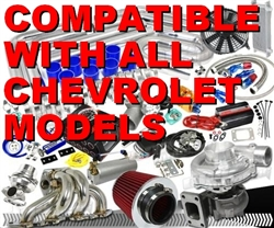 Brand New Quality High Performance Chevrolet Turbo / Charger Universal Kit (Gain 200+ H.P. - Complete Kit)