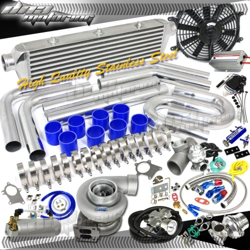 Huge GT45 Turbo/Turbo Charger Universal Kit