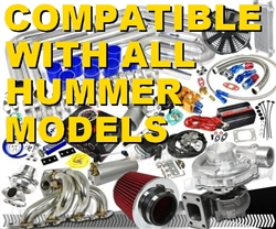 Brand New Total High Performance Hummer Turbo / Charger Universal Kit (Gain 200+ H.P. - Complete Kit)