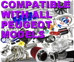 Brand New Quality High Performance Peugeot Turbo / Charger Universal Kit (Gain 200+ H.P. - Complete Kit)