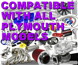 Brand New Total High Performance Plymouth Turbo / Charger Universal Kit (Gain 200+ H.P. - Complete Kit)