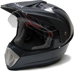TMS Motocross Dual Sport Helmet (DOT Approved)