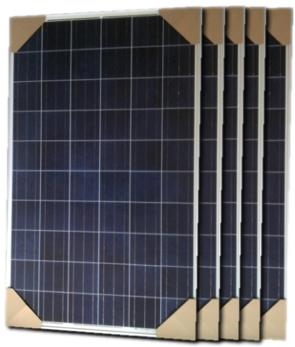 High Quality 280 Watt Solar Panel 5 Panels 1400 Total Watts