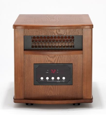dynamic 1500 infrared space heater free shipping. Black Bedroom Furniture Sets. Home Design Ideas