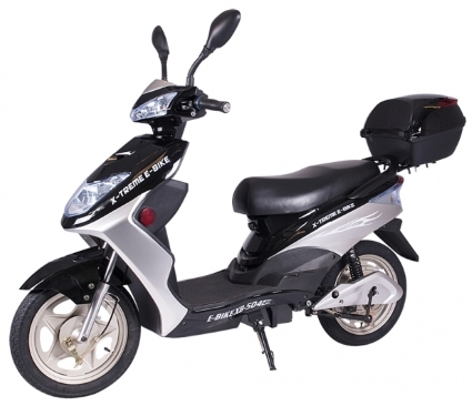 500 watt x treme electric bicycle scooter moped. Black Bedroom Furniture Sets. Home Design Ideas