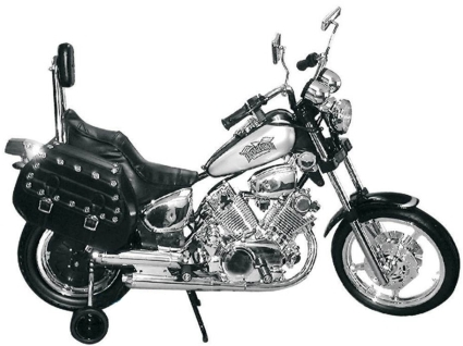 Electric motorized harley style motorcycle w training for Motor age training coupon code