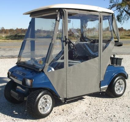 nd New Club Car DS 2000+ Sunbrella Golf Cart Enclosure Sunbrella Golf Cart Enclosures on golf cart side curtains, golf cart rain curtains, golf cart convertible top,