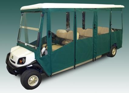 Brand New Vinyl Ez Go Shuttle 8 Golf Cart Enclosure