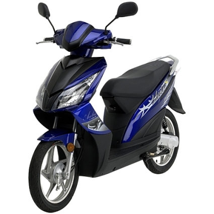 500 watt serengeti electric motor scooter moped. Black Bedroom Furniture Sets. Home Design Ideas