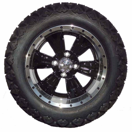 ... Tire/Wheel Package Combo with Lift Kit. Fits Club Car DS (Gas) 96-04