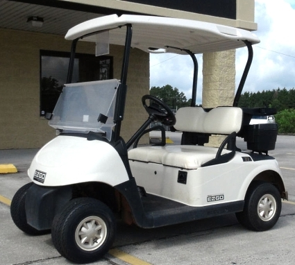 Ez go gas golf cart rxv 13 hp kawasaki white seatstops fandeluxe Images
