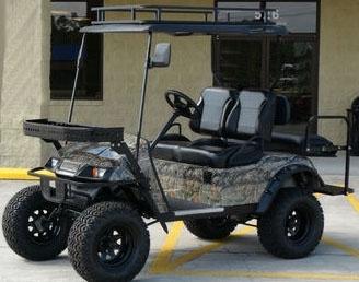 Ez Go 48v Monster Custom Electric Hunting Golf Cart