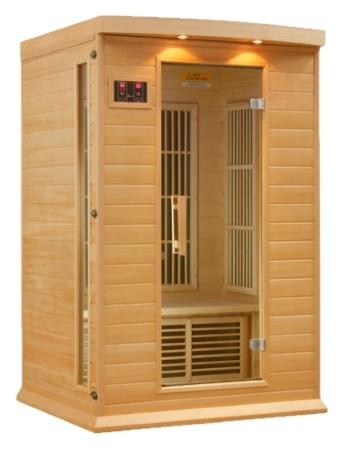 Brand New Maxxus Luxury 2 Person Infrared Sauna Takes The Sauna Market
