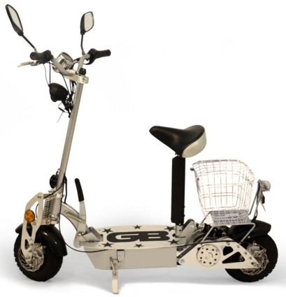 Sit Down Scooter >> Brand New Badger Stand Up Sit Down 800 Watt Electric Scooter