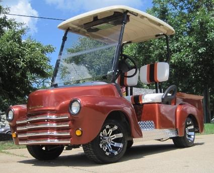 47 Old Truck Custom Club Car Precedent Gas Golf Cart