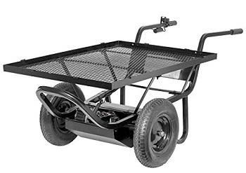 Electric Powered Motorized Utility Cart 6cu Feet