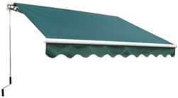 High Quality Green 11.5' x 8' Retractable Patio Awning Canopy