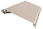 High Quality Beige 13' x 8' Retractable Patio Awning Canopy