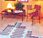 100 Watt Electric Floor Heating System - 8 Square Feet