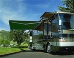High Quality Green 13' x 8' RV Retractable Patio Awning Canopy