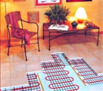 100 Watt Electric Floor Heating System - 8 Square Feet With Mat