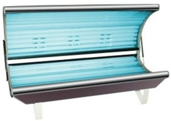 Introducing The Galaxy 18R Home Sun Tanning Bed with Reflector Tanning Lamps