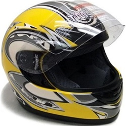 TMS Full Face Motorcycle Helmet (DOT Approved)