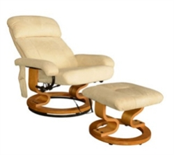 Remote Control Leather PU Heated Vibrating Massage Chair