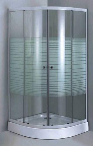 Aluminum Frame Shower Enclosure Set With Privacy Glass Amp Base