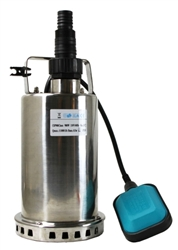 1HP 3300 GPH Stainless Steel Submersible Sump Pump