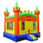 Commercial Grade Inflatable Royal Castle Bouncer Bouncy House