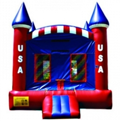 Commercial Grade Inflatable USA American Castle Bouncer Bouncy House