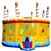 Commercial Grade Inflatable Birthday Cake Jumper Bouncer Bouncy House