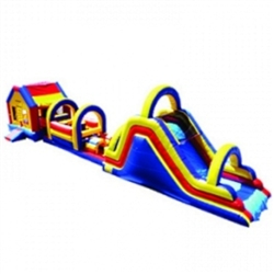 Commercial Grade Inflatable Super Module Obstacle Course